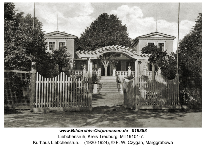 Marggrabowa, Liebchensruh