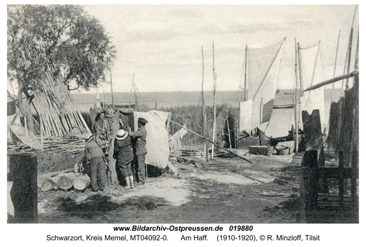 Schwarzort, Am Haff