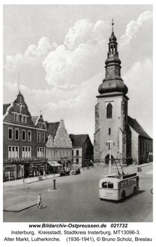 Insterburg, Alter Markt, Lutherkirche