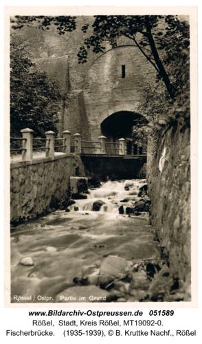 Rößel, Fischerbrücke