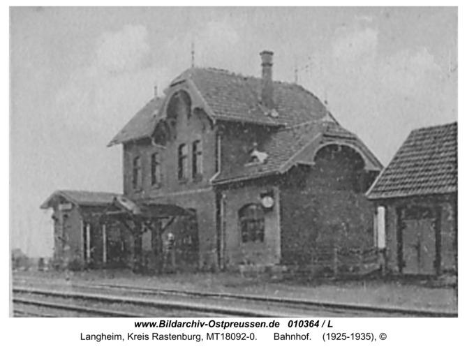 Langheim, Bahnhof
