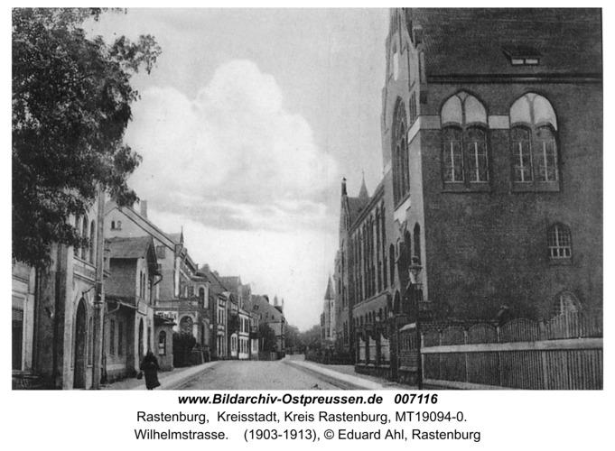 Rastenburg, Wilhelmstraße