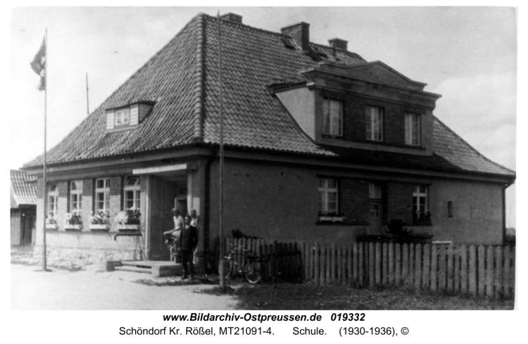 Schöndorf Kr. Rößel, Schule