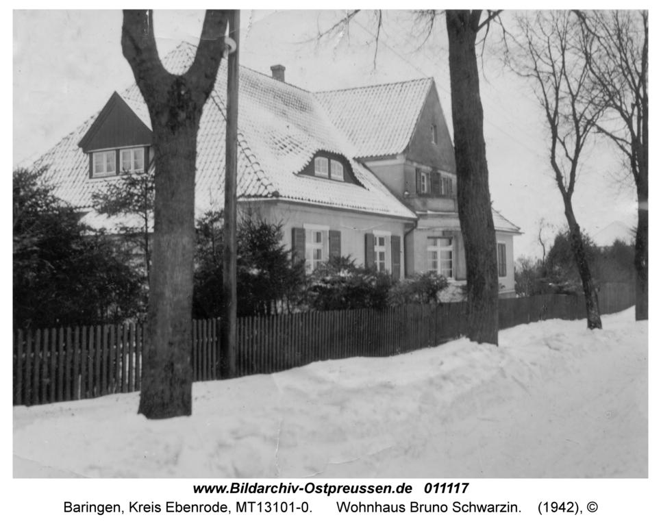 Baringen, Wohnhaus Bruno Schwarzin