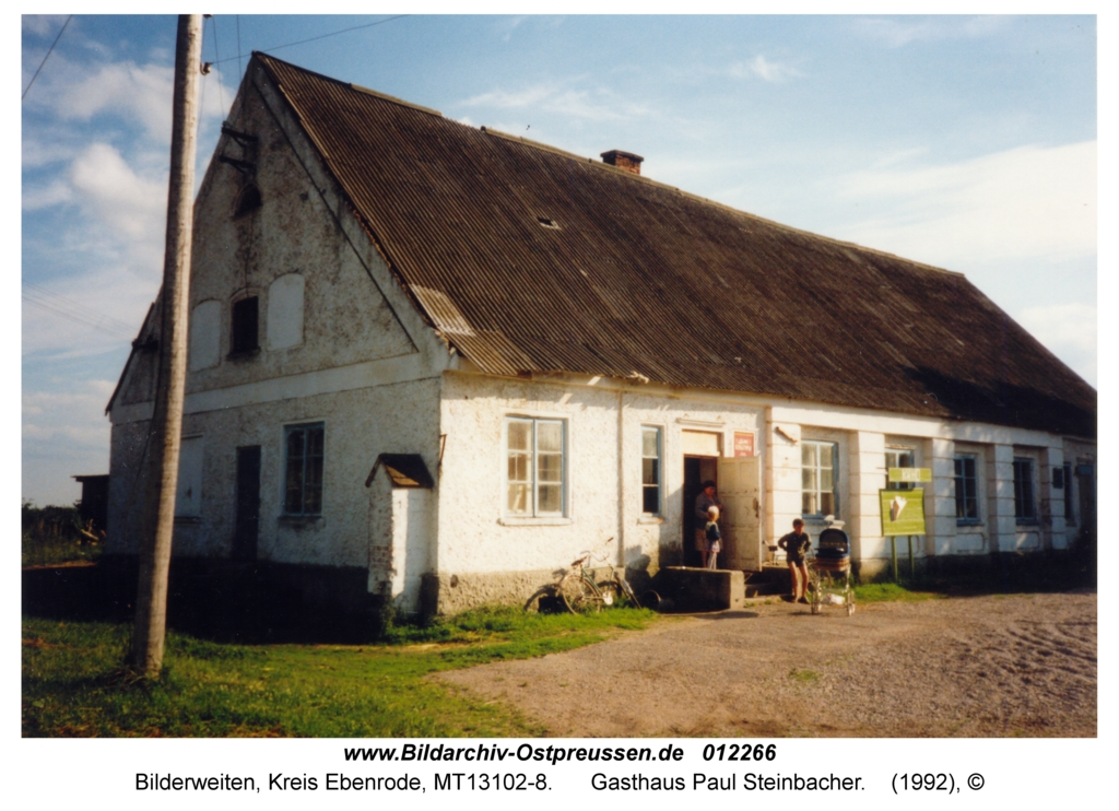 Bilderweiten, Gasthaus Paul Steinbacher