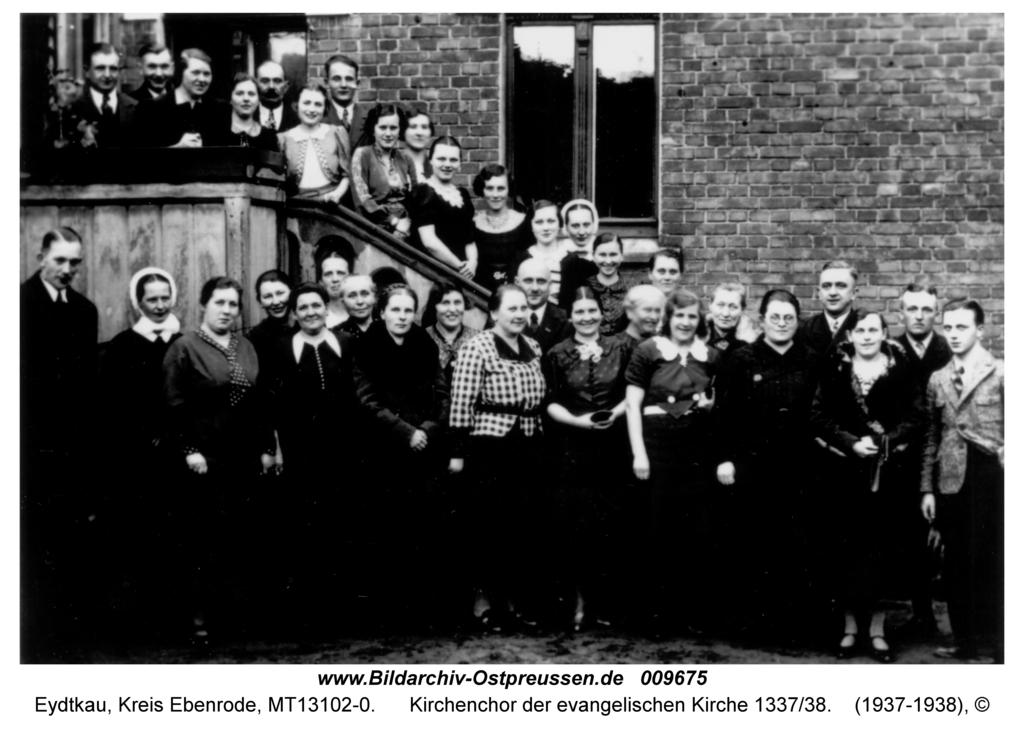 Eydtkau, Kirchenchor der evangelischen Kirche 1337/38