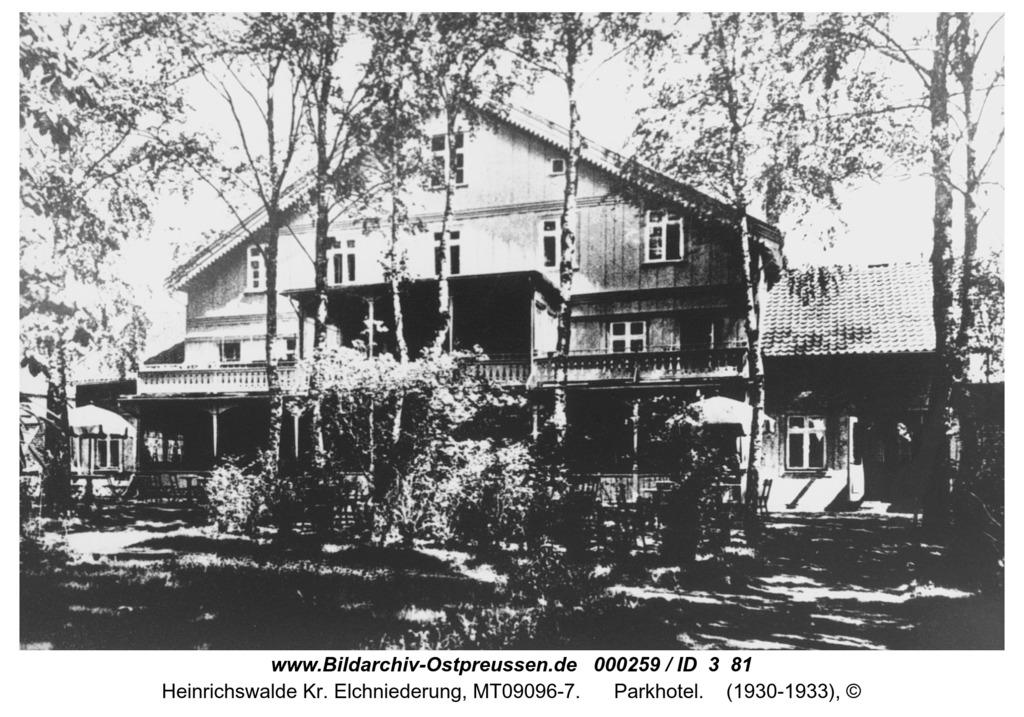 Heinrichswalde, Parkhotel