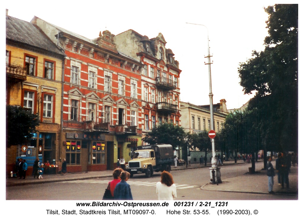 Tilsit, Hohe Str. 53-55