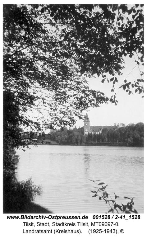 Tilsit, Landratsamt (Kreishaus)