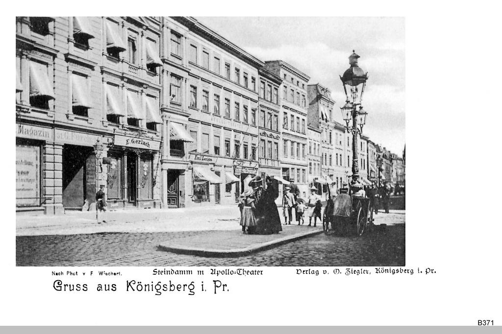 Königsberg, Steindamm Apollotheater