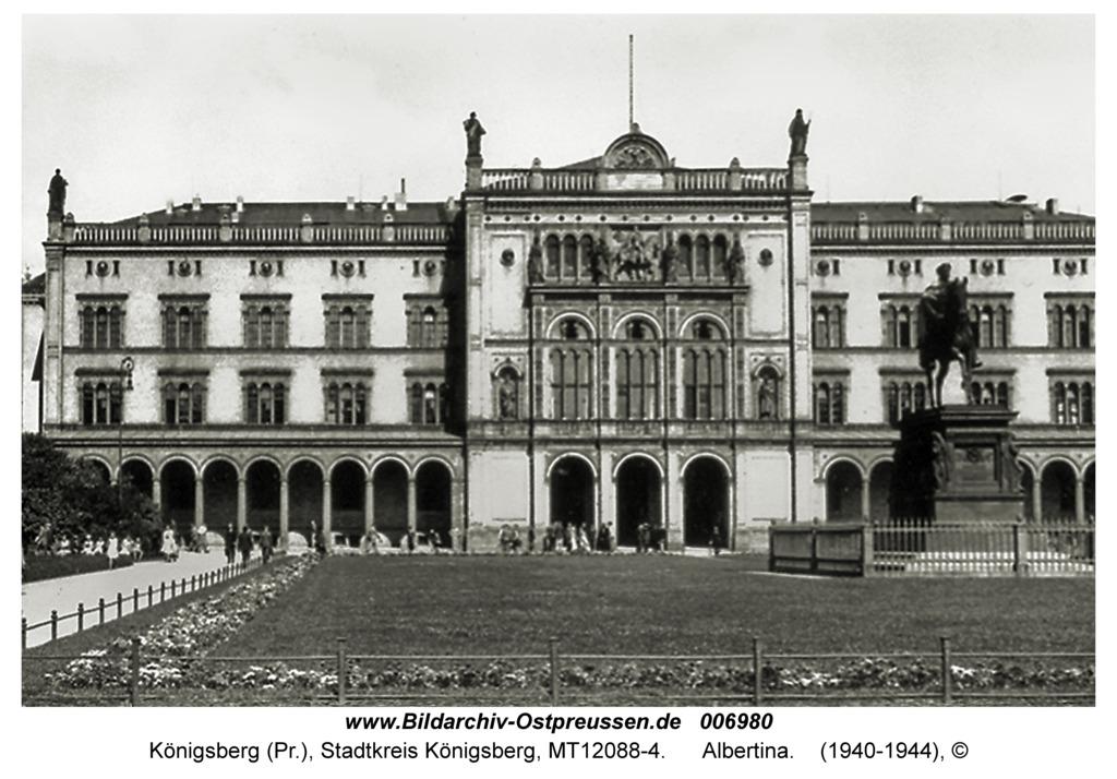 Königsberg, Albertina