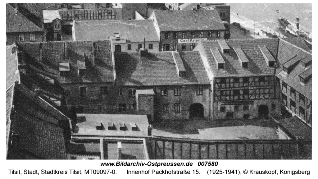 Tilsit, Innenhof Packhofstraße 15
