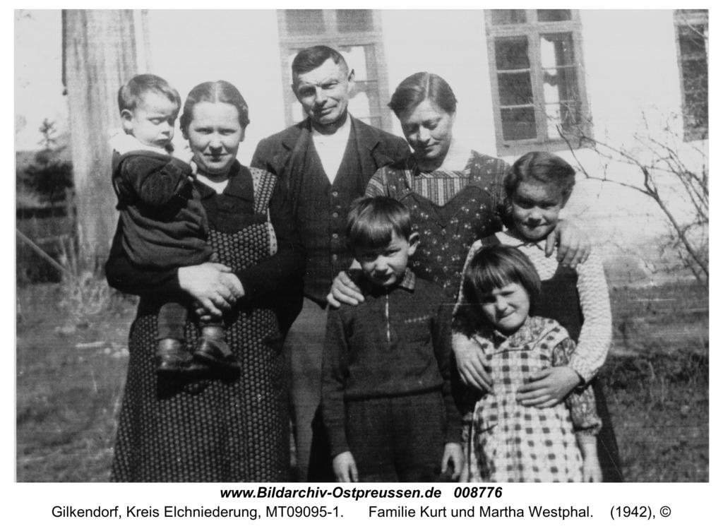 Gilkendorf 12, Familie Kurt und Martha Westphal