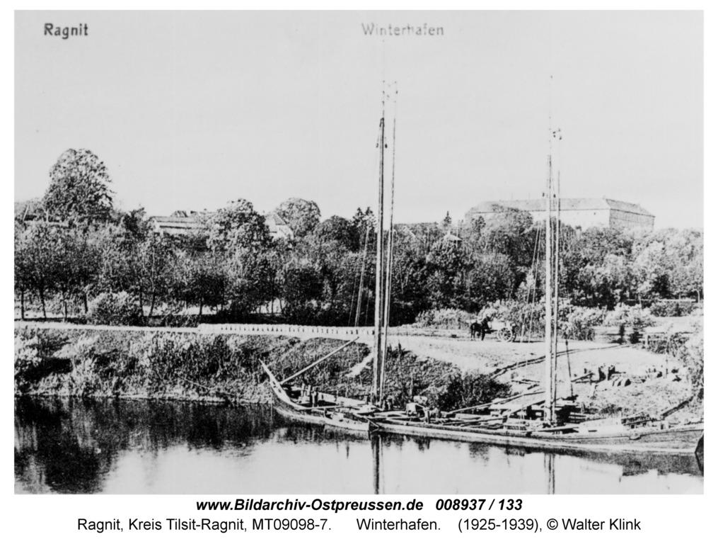 Ragnit, Winterhafen