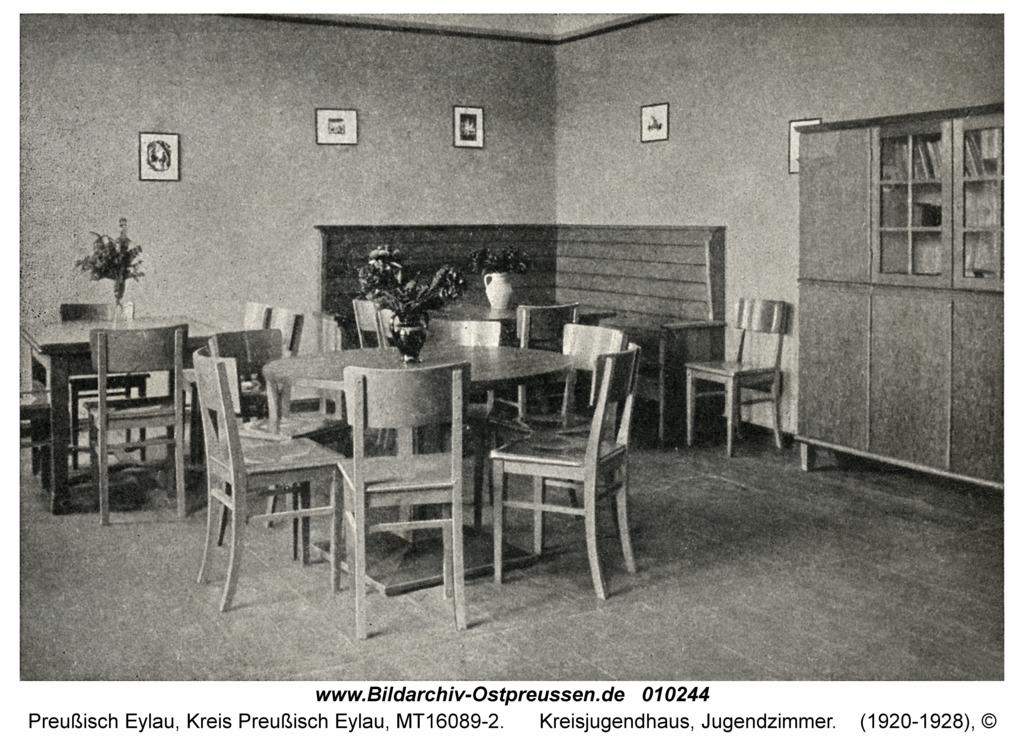 Preußisch Eylau, Kreisjugendhaus, Jugendzimmer