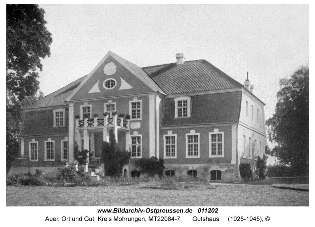 Auer Kr. Mohrungen, Gutshaus