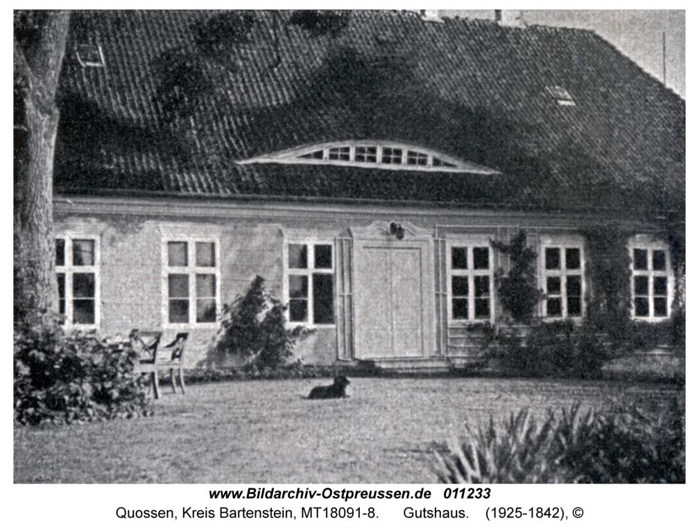 Quossen, Gutshaus