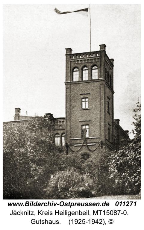 Jäcknitz, Gutshaus