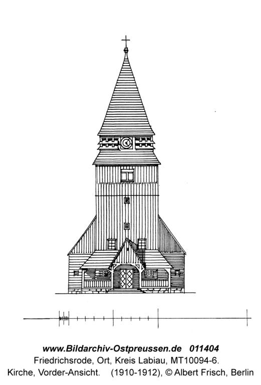 Friedrichsrode, Kirche, Vorderansicht