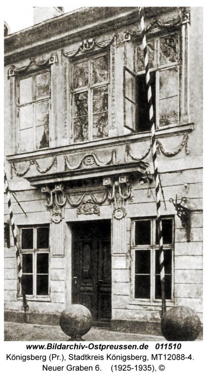 Königsberg, Neuer Graben 6