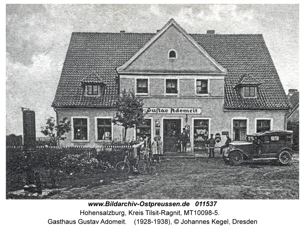 Hohensalzburg, Gasthaus Gustav Adomeit