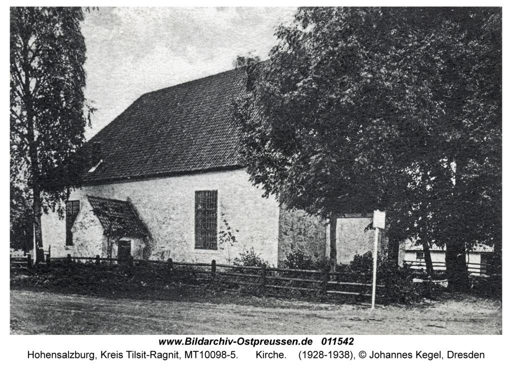 Hohensalzburg, Kirche