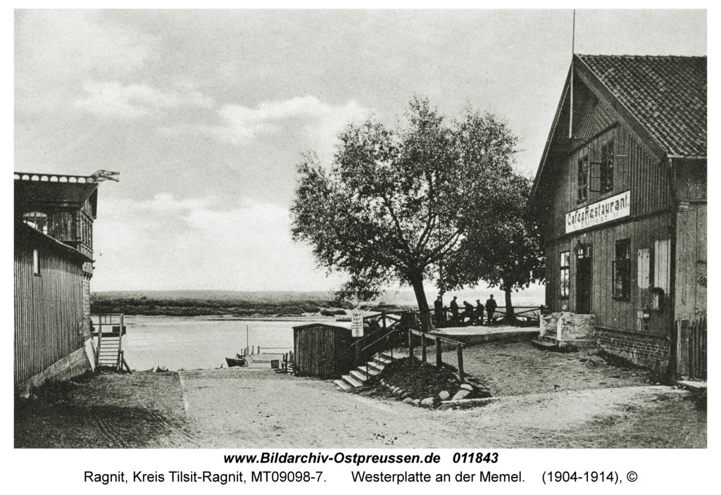 Ragnit, Westerplatte an der Memel