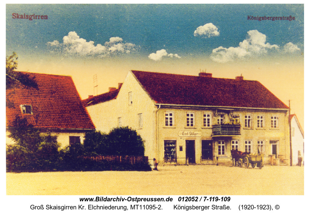 Kreuzingen, Königsberger Straße
