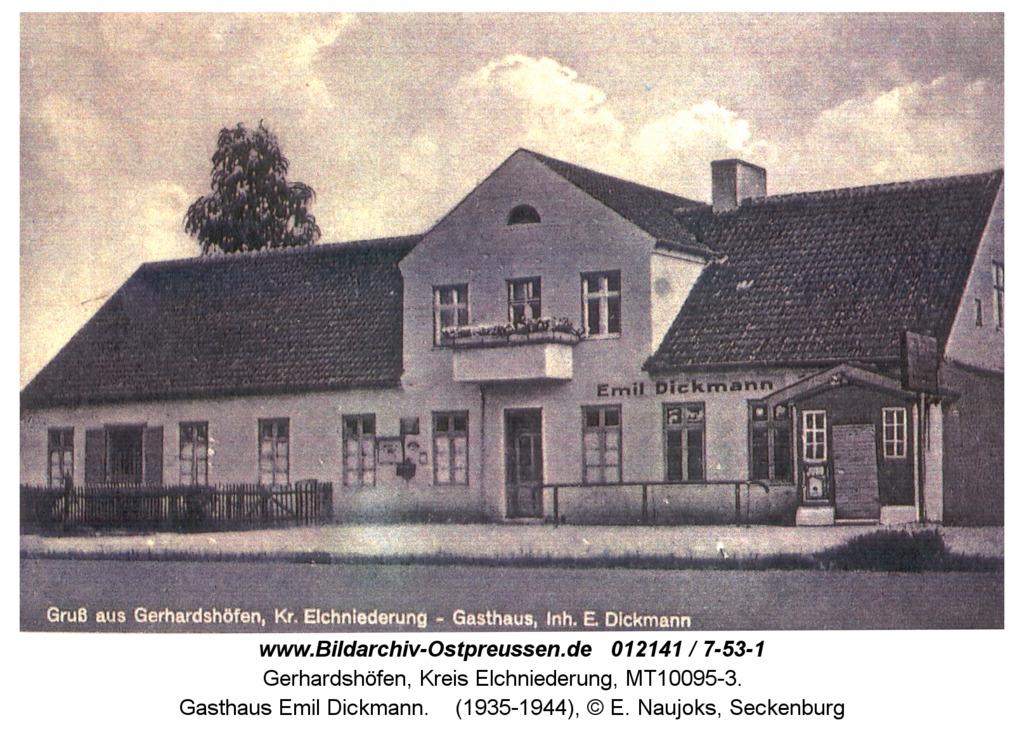 Gerhardshöfen, Gasthaus Emil Dickmann