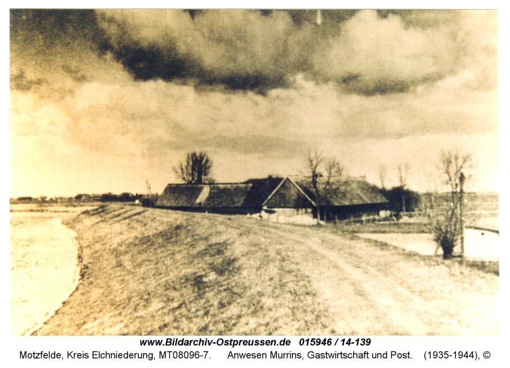 Motzfelde, Anwesen Murrins, Gastwirtschaft und Post