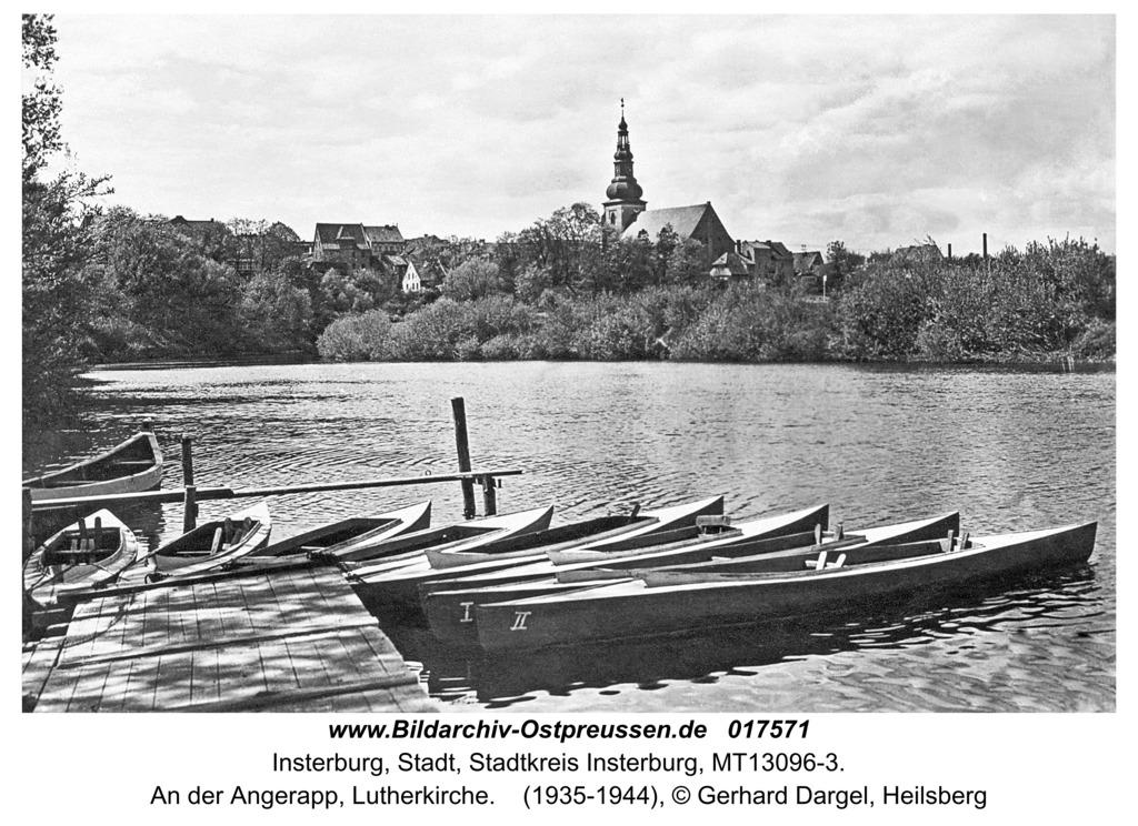 Insterburg, An der Angerapp, Lutherkirche