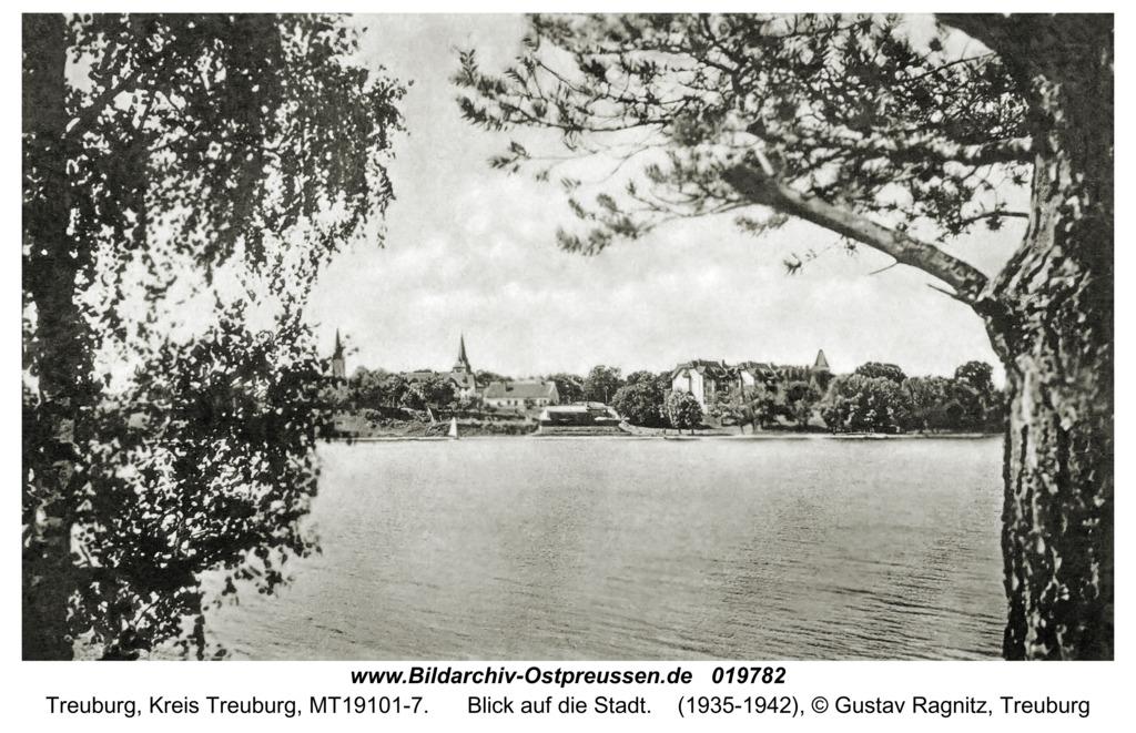 Treuburg, Blick auf die Stadt