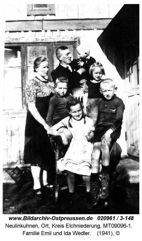 Neulinkuhnen, Familie Emil und Ida Wedler