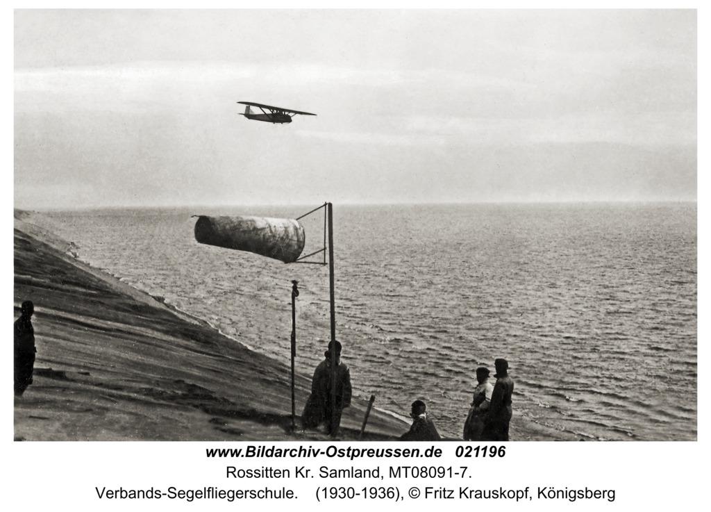 Rossitten Kr. Samland, Verbands-Segelfliegerschule