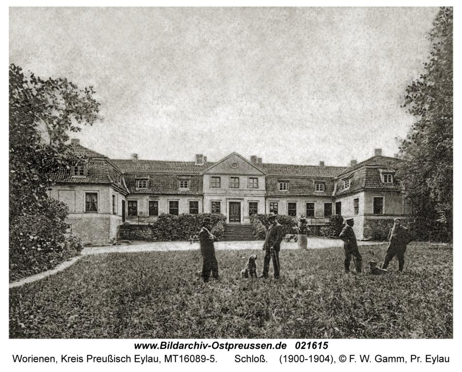 Worienen Kr. Preußisch Eylau, Schloß