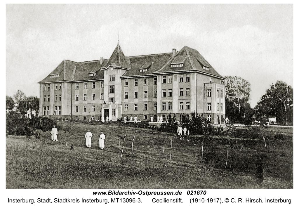 Insterburg, Cecilienstift