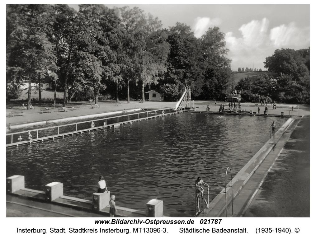 Insterburg, Städtische Badeanstalt