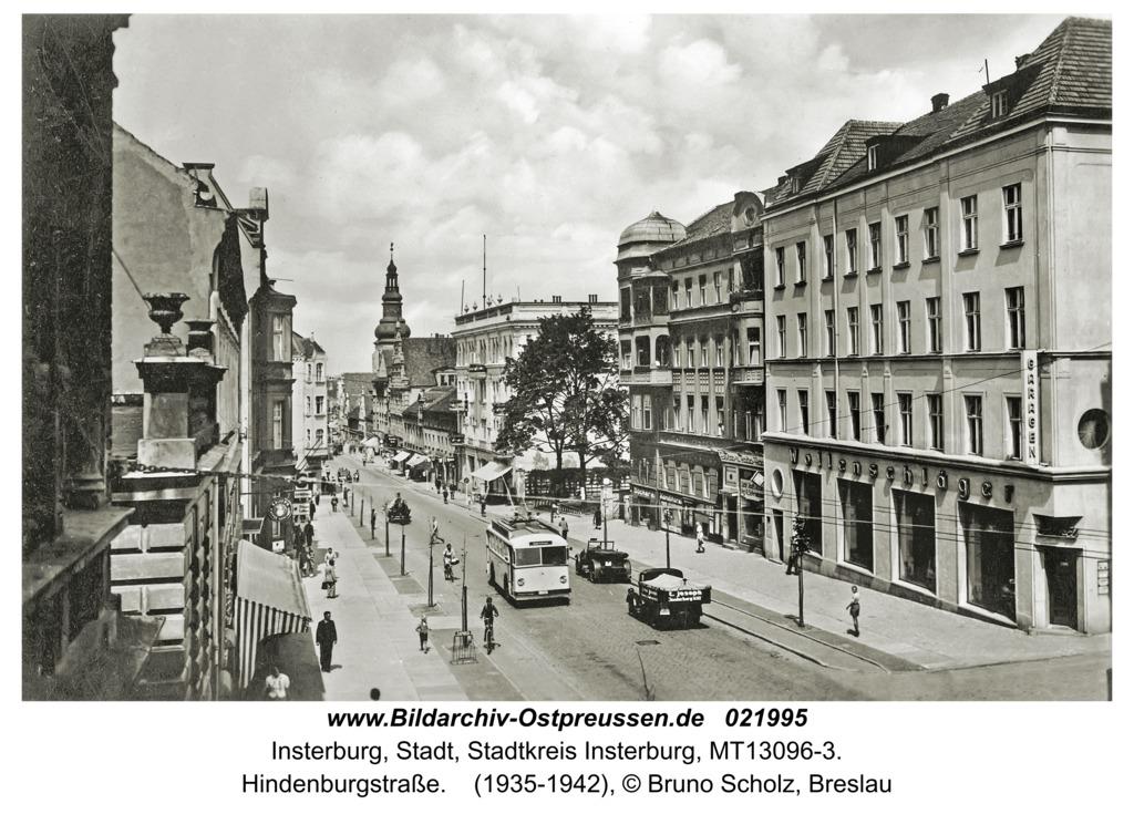 Insterburg, Hindenburgstraße