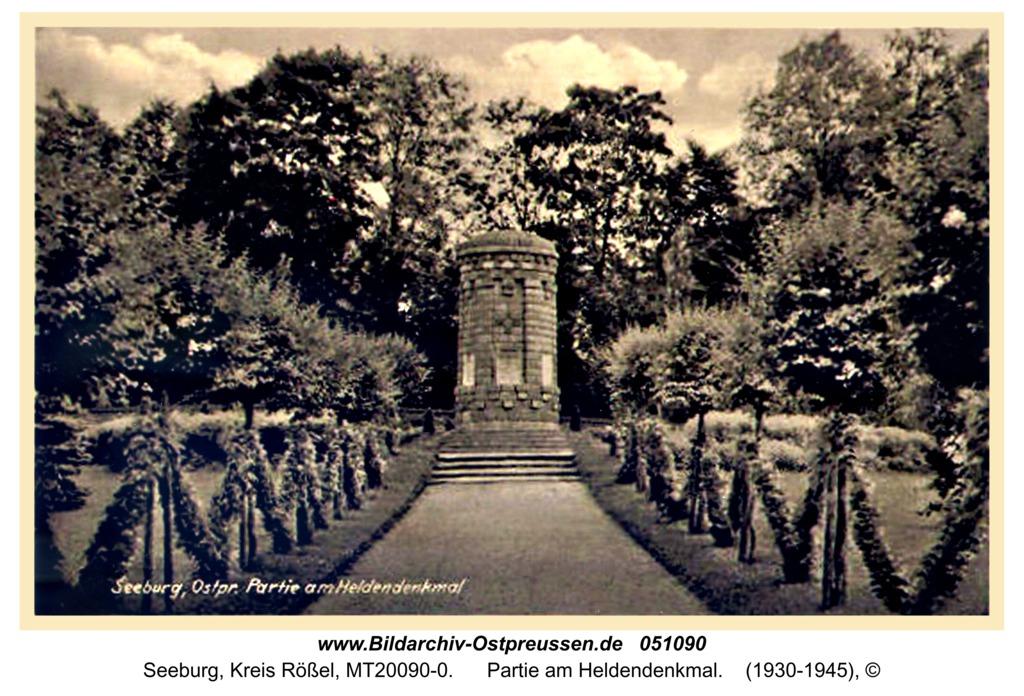 Seeburg, Partie am Heldendenkmal