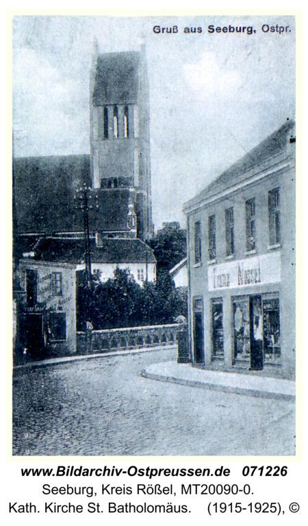 Seeburg, Kath. Kirche St. Batholomäus