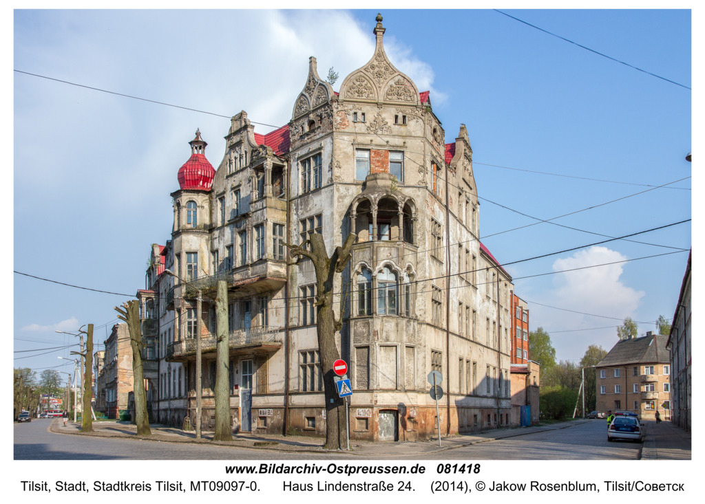 Tilsit (Советск), Haus Lindenstraße 24