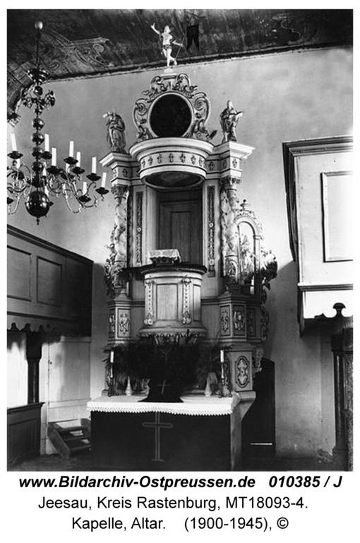 Jesau, Kirche, innen, Altar