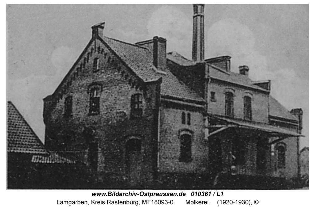 Lamgarben, Molkerei