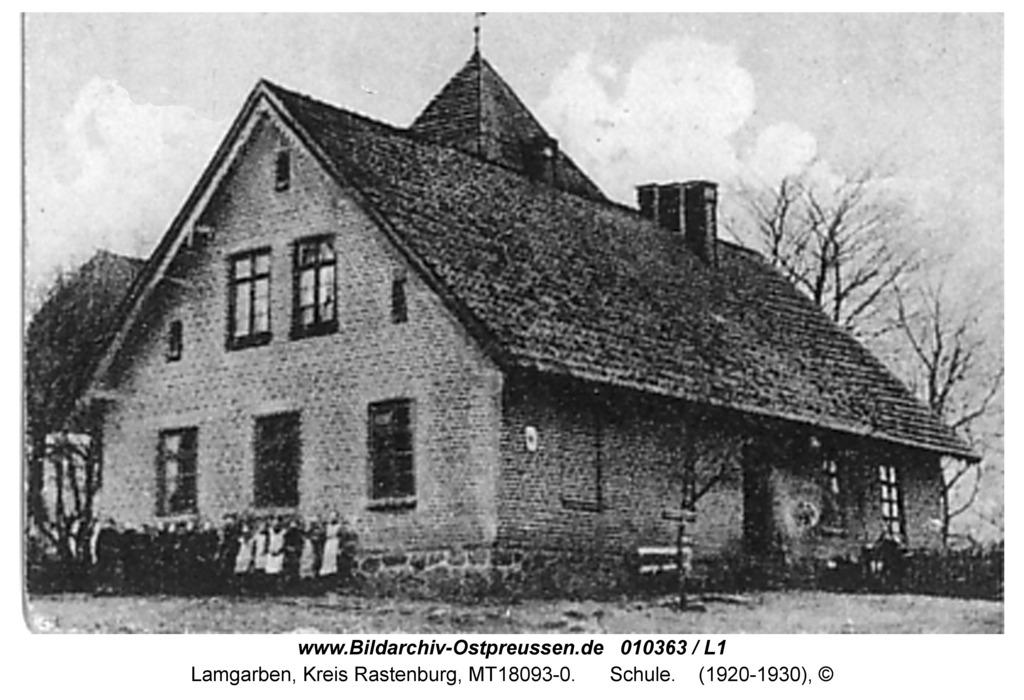 Lamgarben, Schule