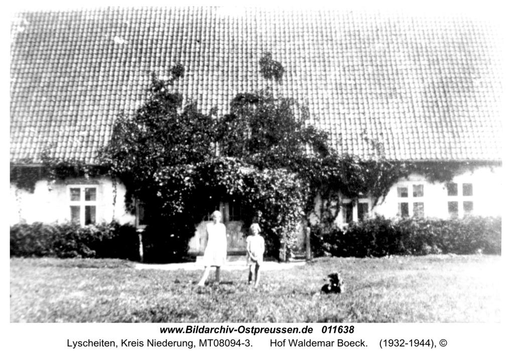 Lyscheiten, Hof Waldemar Boeck
