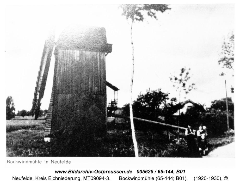 Neufelde, Bockwindmühle (65-144; B01)