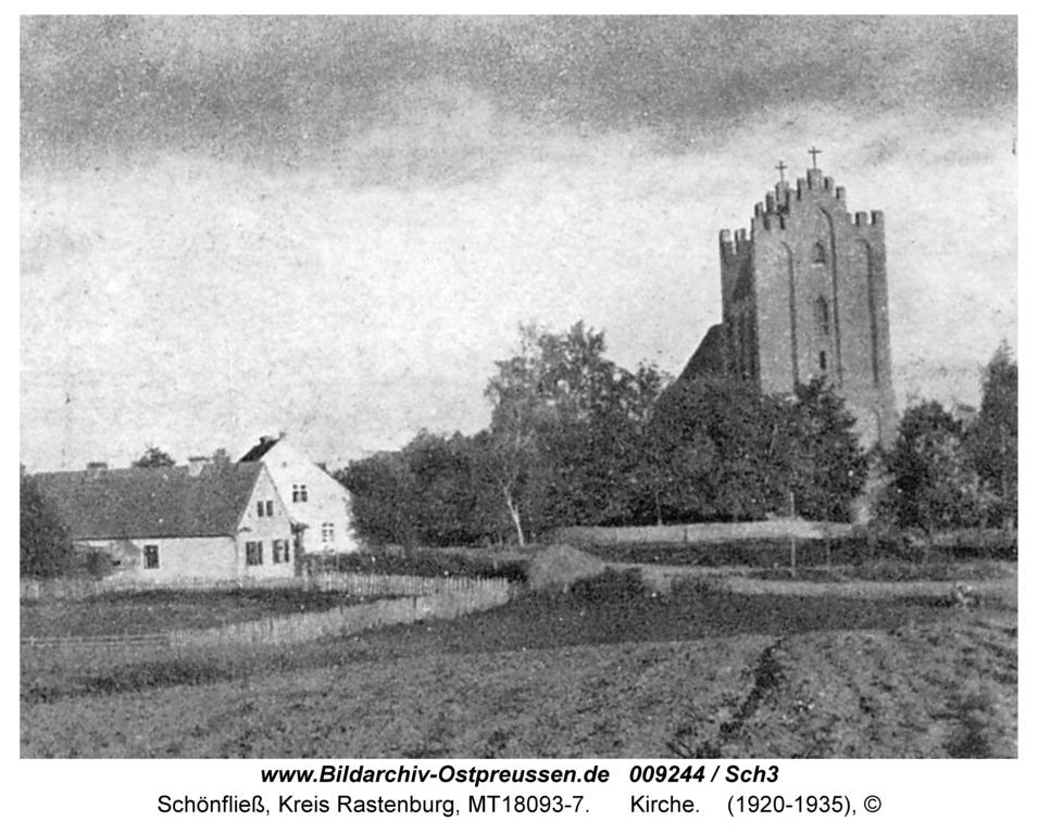 Schönfließ, Kirche