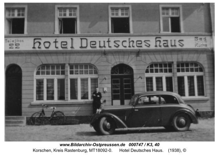 Korschen, Hotel Deutsches Haus