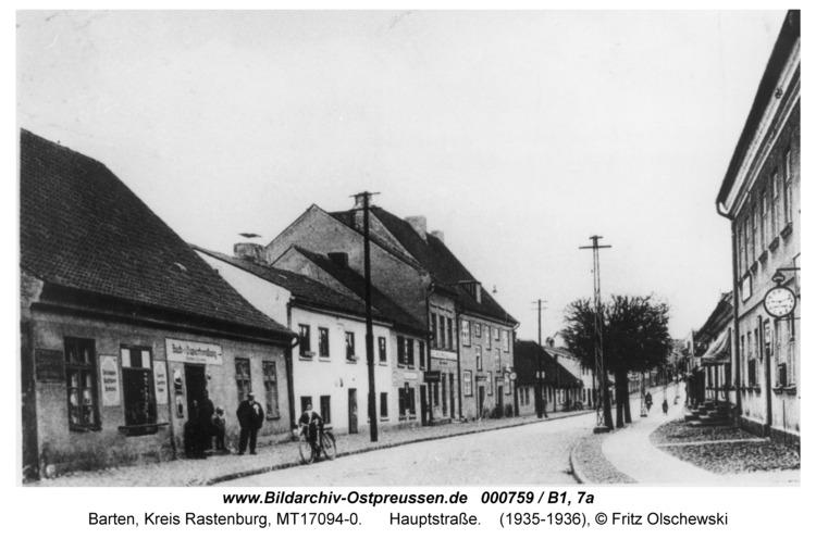 Barten, Hauptstraße