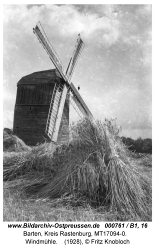 Barten, Windmühle
